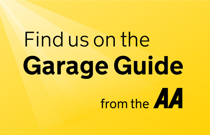 Find Us on the AA Garage Guide