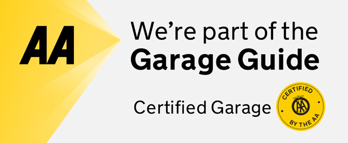 AA Certified Gagage Guide Banner